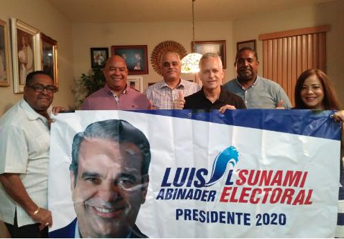 Dirigencia de L'Sunami Electoral en la Florida llama a votar por Luis Abinader