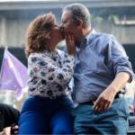 Leonel y Margarita juntos