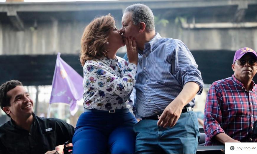 VIDEO: Leonel y Margarita juntos en cierre campaña; miles de simpatizantes recorren diferentes sectores