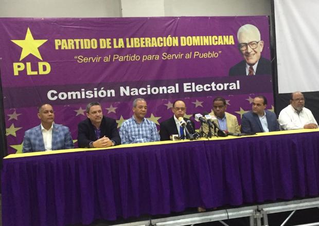 Comisión Electoral del PLD anuncia su respaldo a la JCE por primarias