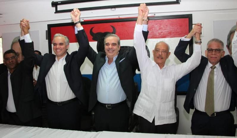 PRSD proclama a Luis Abinader como su candidato presidencial