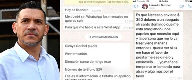 Papá de Junior Guzmán denuncia cuentas hakeadas y estafas a su nombre