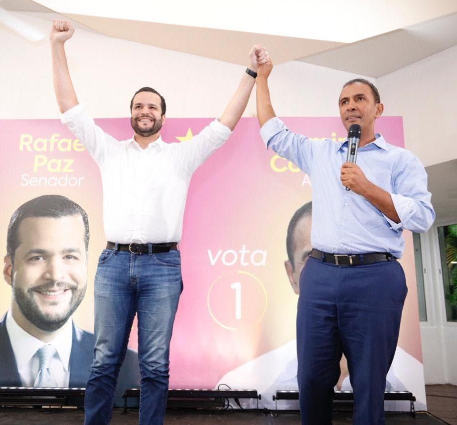 Domingo Contreras apoya a Rafael Paz para retener la senaduría de SD