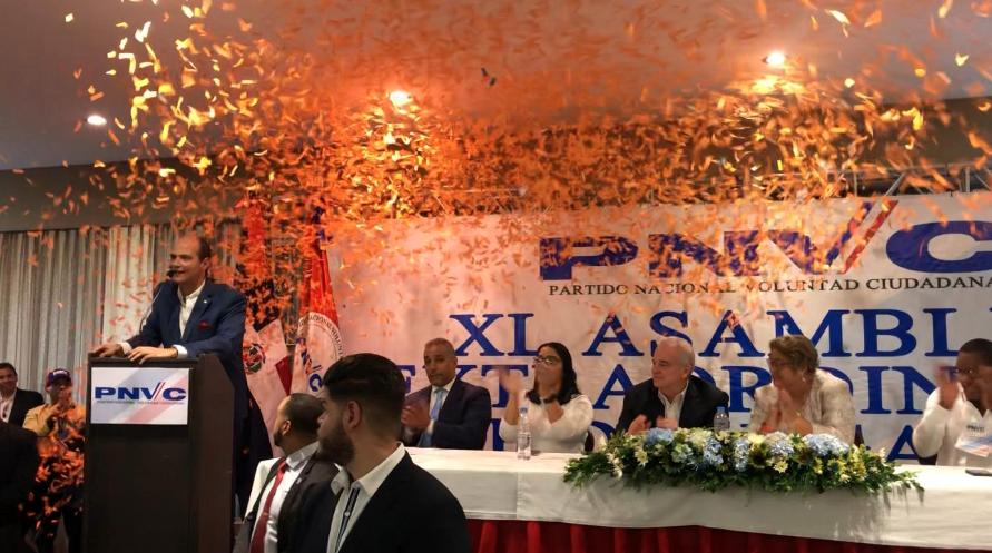 Ramfis Domínguez Trujillo es oficialmente candidato presidencial por el PNVC