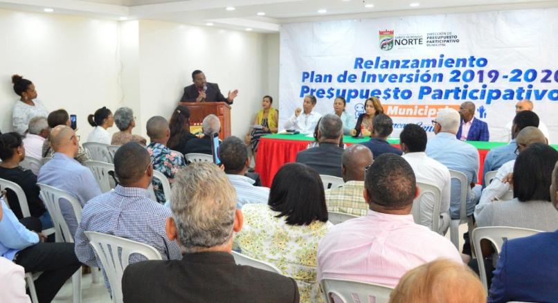Alcaldía SDN invertirá RD$80 millones en obras del presupuesto participativo