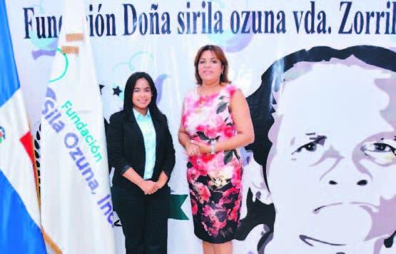 Rosanna González de Zorrilla y Anabel Sena.