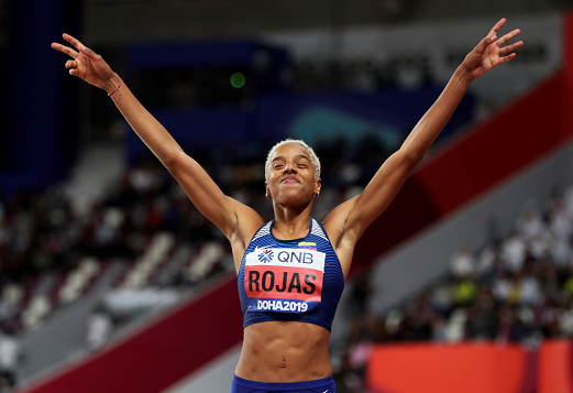 Yulimar Rojas repite oro para Venezuela en salto triple del Mundial