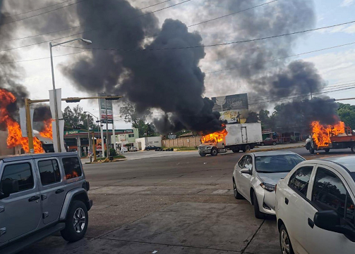 Presunta captura de hijo del Chapo en México desata violencia en Culiacán