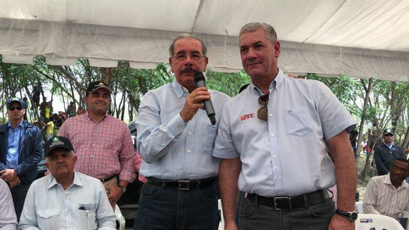 Danilo Medina y Gonzalo Castillo.