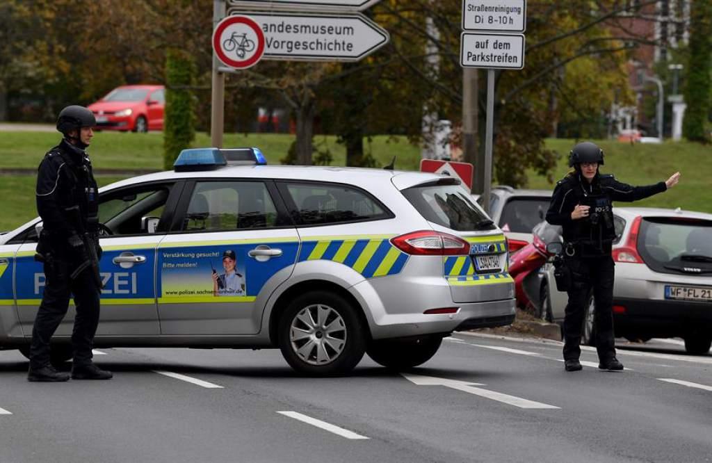 Un detenido tras tiroteo que dejó dos muertos en el este de Alemania
