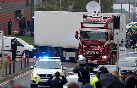 Gran Bretaña: Los 39 muertos en camión eran chinos