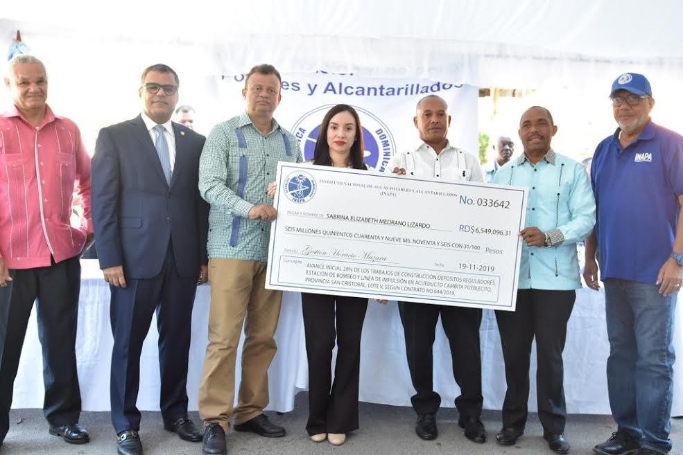 INAPA invierte más de RD$627 millones en obras para San Cristóbal