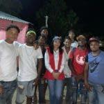 La candidata alcaldesa de Guayacanes