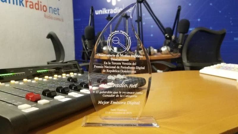 "Unikradio obtiene galardón de ""mejor emisora digital"""