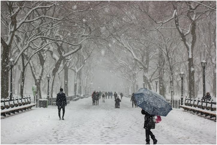 Nieve, lluvia y fuertes vientos afectarán los Estados Unidos