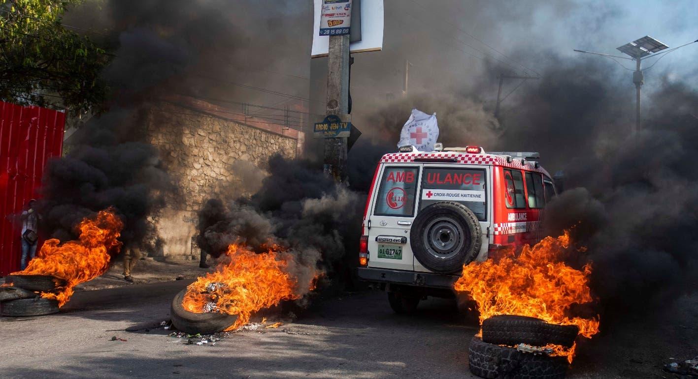 Las movilizaciones han llevado Haití a una profunda parálisis