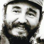 (FILES) This 1972 file photo shows Fidel Castro, leader of the Cuban Communist party speaking to the press in Havana, Cuba. Castro resigned on February 19, 2008 as president and commander in chief of Cuba in a message published in the online version of the official daily Granma. AFP PHOTO/HO   (B&W ONLY)