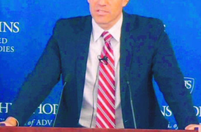 Richard Glenn, subsecretario de Estado Adjunto para la Oficina de Asuntos Internacionales de Narcotráfico y aplicación de la Ley (INL, por siglas en inglés) de los Estados Unidos, presentó al Sistema Nacional de Atención a Emergencias y Seguridad 9-1-1 como un referente de éxito en la región. Hoy/Fuente Externa 14/11/19