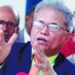 Acusan al Ministro de salud publica de engañar a los Médicos para beneficiar su candidato a la presidencia del CMD. En foto : Waldo Ariel Suero  Hoy Duany Nuñez 11-11-2019
