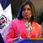 Margarita Cedeño, vicepresidente de la República. Foto archivo.