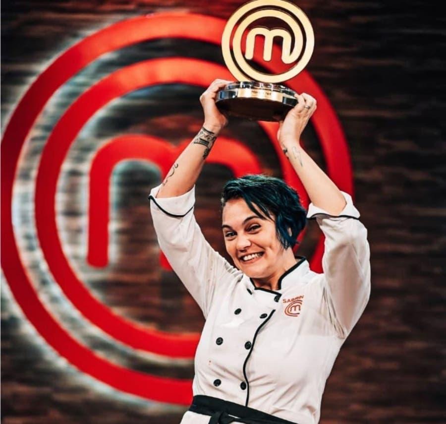 Sabrina Gómez  gana MasterChef