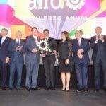 AIRD otorga a Casa Brugal el primer Galardón Nacional a la Industria Dominicana. 12-11-2019.Foto Pedro Sosa