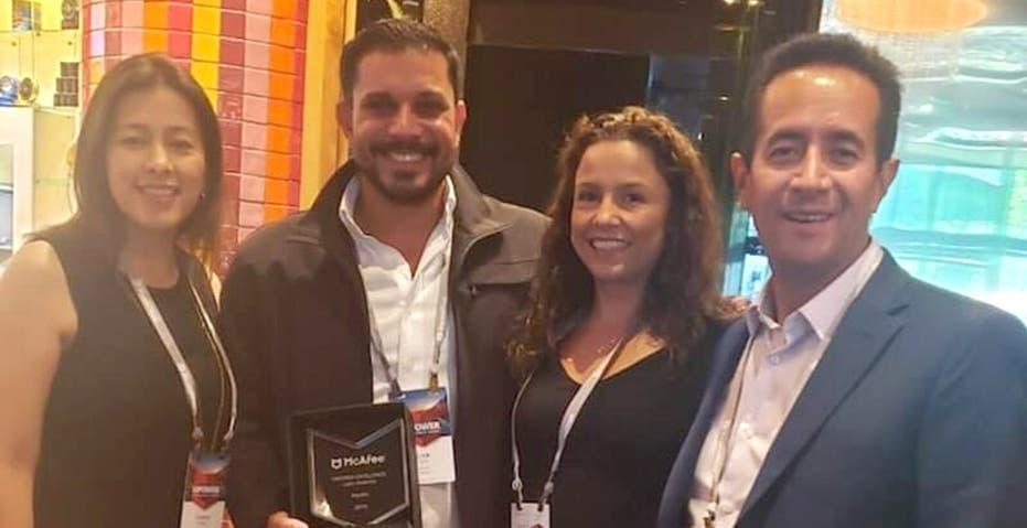 McAfee reconoce a Asystec en Las Vegas