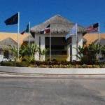economia. Fachada de Hard Rock Hotel & Casino en  Punta Cana