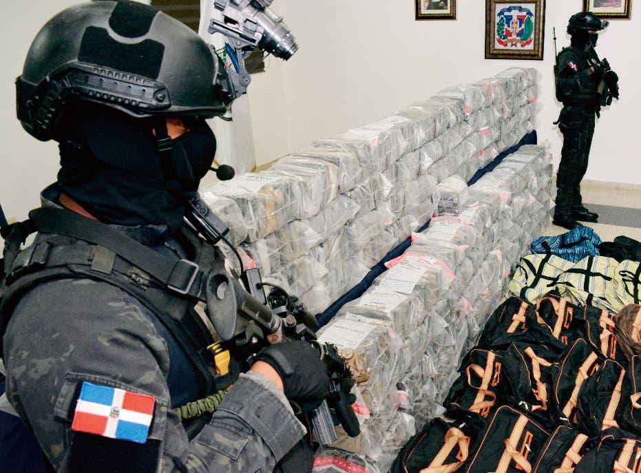 Incautan 155 kilos de cocaína y detienen a dominicano en Puerto Rico