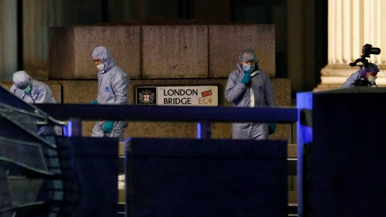 La policía confirma dos muertos y tres heridos en el atentado de Londres