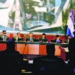 El pais/ El Presidente  de la Suprema Cortes de Justicias Henry Molina, Preside la audiencia Solenne  de Juridiccion Previlegiada   ,Hoy/Jose Francisco ,13-11-2019