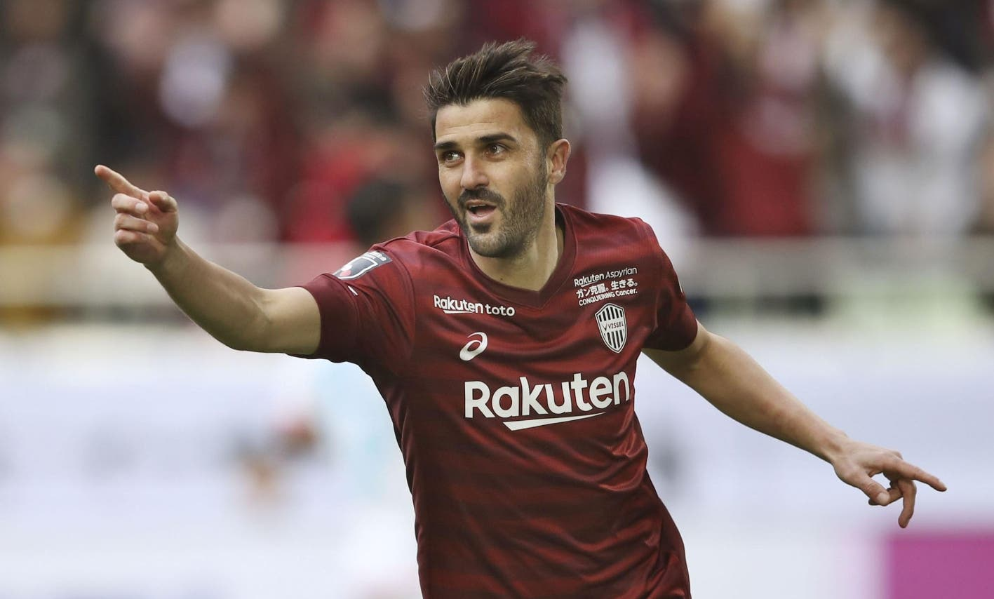 David Villa anuncia su retirada del fútbol profesional a finales de este año