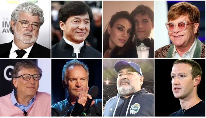 Estos son los famosos que dejaron a sus hijos sin herencia