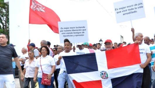 Campesinos de El Seibo marchan en reclamo terrenos