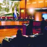 El Pais/ El Presidente de la Suprema Corte de Justicia , ?Luis Henry Molina Peña, preside la Audiencia  de Juridiccion Previlegiada del caso de Odebretd, HOy/Jose Francisco ./12-11-2019.