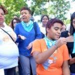 Organización social independiente invitaron a participar en la marcha cívica, por vidas seguras y libres de violencia para las mujeres• Marchas de las Mariposas. En Foto: Natalia de Peña, Saray Hoy/ Arlenis Castillo04/11/19.
