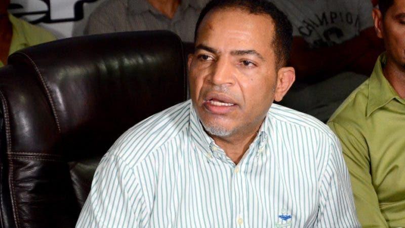 Juan Marte presidente de la Central Nacional de Trabajadores del Transporte CNTT. Hoy Wilson Aracena
