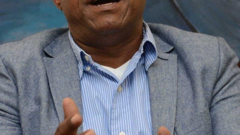 Gerardo Felipe, Alcalde Cevicos, durante un entrevista en Periódico Hoy  Santo Domingo Rep. Dom. 30 de octubre del 2019. Foto Pedro Sosa