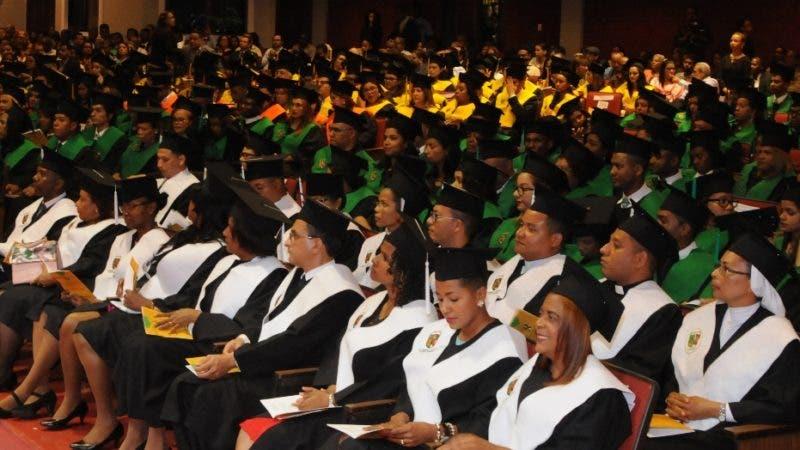 Universidad Catolica de Santo Domingo, realizo su Octagesima Primera Graduacion Postgrado. 12-11-19 Foto: Jose Adames Arias