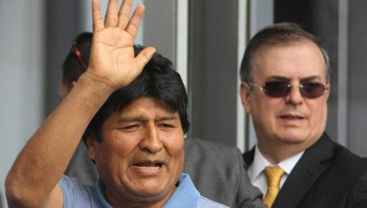 """Evo Morales: """"El presidente de México me salvó la vida"""""""