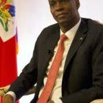 Haiti's President Jovenel Moise pauses during an interview in his office in Port-au-Prince, Haiti, Wednesday, Aug. 28, 2019. Moise told The Associated Press Wednesday that he will serve out his term despite rising violence, poor economic performance and months of protests over unresolved allegations of corruption in his predecessor's administration. (AP Photo/Dieu Nalio Chery)
