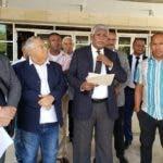 Comision de los Derechos Humanos denuncia agresiones a sus miembros, Manuel Maria Mercedes presidente de la CNDH, hablo a la prensa. Hoy/Fuente Externa 21/11/19
