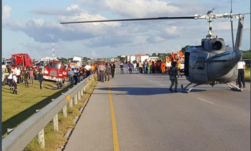 Nuevos detalles del accidente de tránsito en la autopista del Este