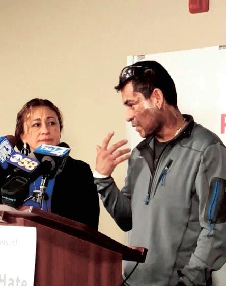 Lanzan ácido en la cara a hispano en un ataque de odio en EEUU
