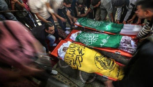 Aviación de Israel mata 26 palestinos en ataque en Gaza