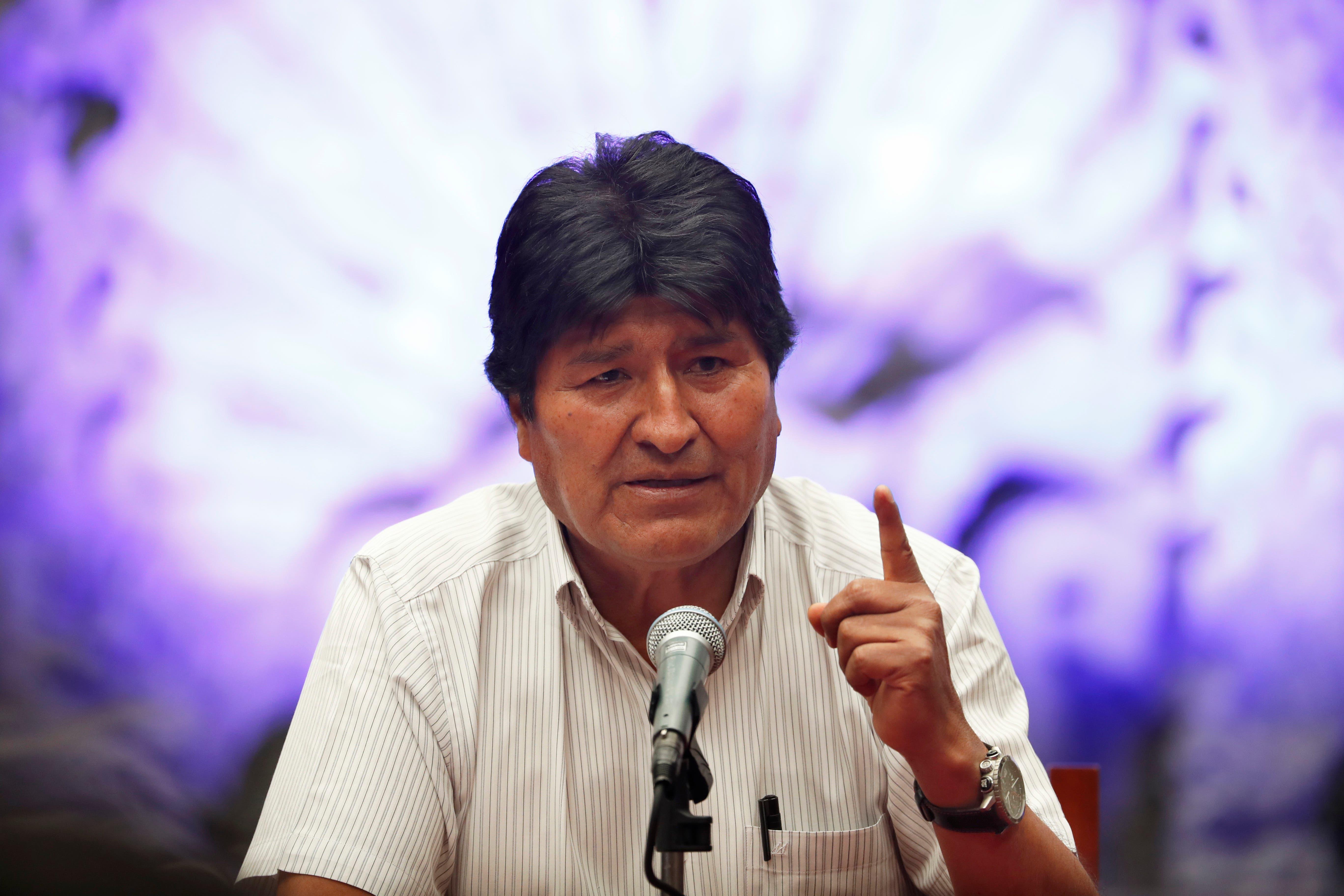 Evo Morales: «La OEA está al servicio del imperio norteamericano, no de los pueblos latinoamericanos»