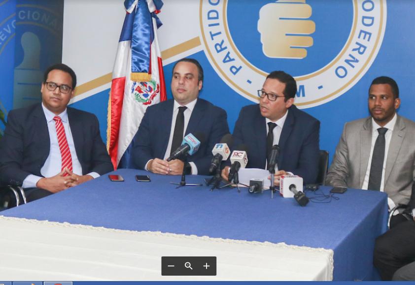 PRM advierte a Procuraduría sobre intercepción de teléfonos a sus dirigentes
