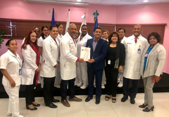 Hospital Materno Reynaldo Almánzar ratifica acuerdo con el ITSC
