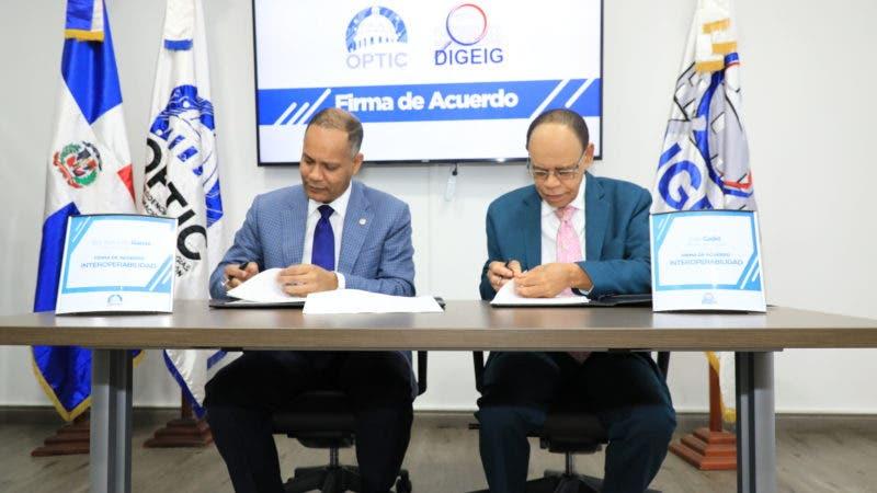 Acuerdo OPTIC y DIGEIG 1