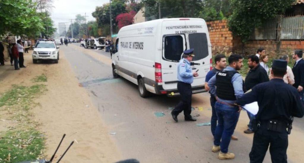 Un agente fiscal y cinco personas detenidas tras fuga de jefe narco en Brasil